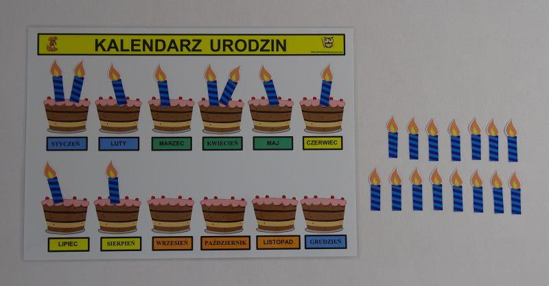 Kalendarz Urodzin W Przedszkolu